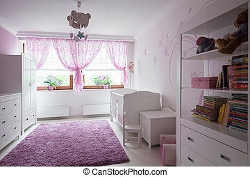 Neat furnished child room - Photo of neat furnished child...