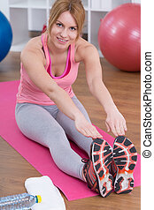 Convenient training at home - Training at home is very...