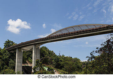 Henderson Waves Bridge Singapore - Singapore - February 01,...