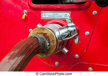 Fire hydrant , hose connection ,fire fighting equipment for...