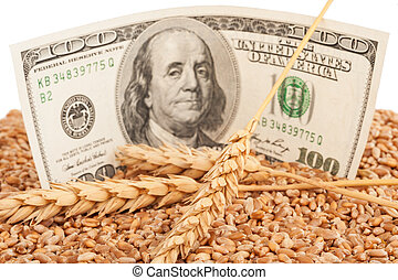 Agricultural income concept
