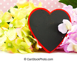 background valentine's day with gift box
