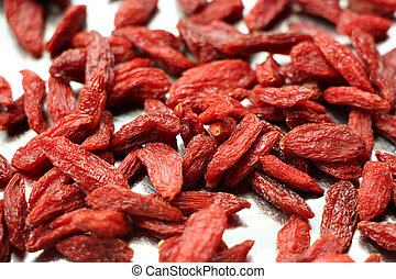 The dried fruit of medlar - Traditional Chinese herbal...