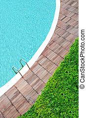 pool side wiew