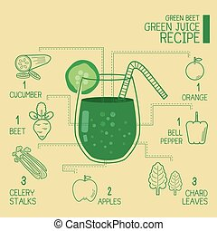 Green beet, green juice recipes great detoxify design