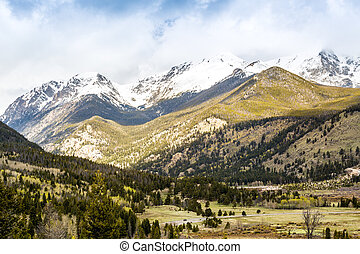 Rocky Mountains National Park, USA - Rocky Mountains...