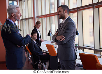 business people group on meeting - business people group...