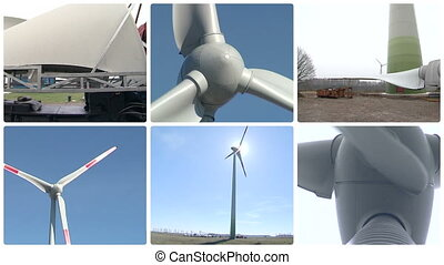 wind turbine assembly - Wind turbine parts transportation...