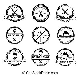 Barber shop badge