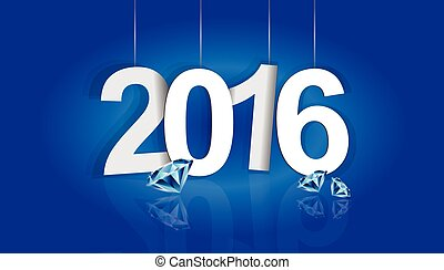 2016 - 2015-2016 change represents the new year 2016 New...