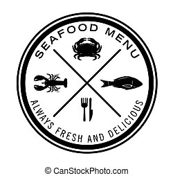 Sea food badge