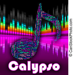 Calypso Music Indicates Caribbean Song And Calypsos -...