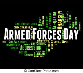 Armed Forces Day Shows Military Action And Army - Armed...