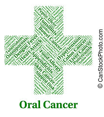 Oral Cancer Shows Poor Health And Afflictions - Oral Cancer...