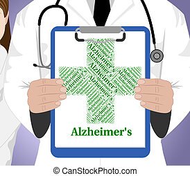 Alzheimer's Disease Shows Mental Deterioration And...