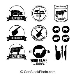 Butchery badge