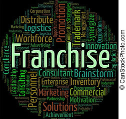 Franchise Word Means Text Concession And Privilege -...