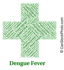 Dengue Fever Represents Poor Health And Affliction - Dengue...