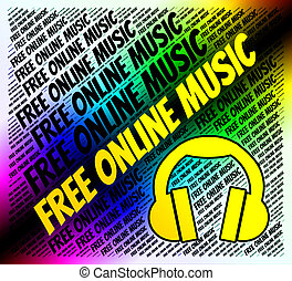 Free Online Music Indicates Sound Track And Acoustic - Free...