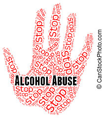 Stop Alcohol Abuse Shows Treat Badly And Abused - Stop...