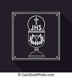 Catholic design - Catholic digital design, vector...