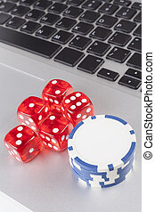 Dice With Chips