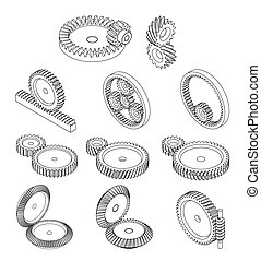 11 type of gears