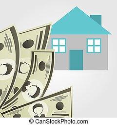 monetary investment design, vector illustration eps10...