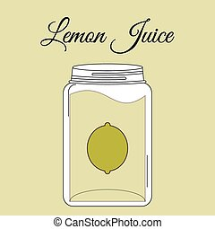 fruit juice bottle