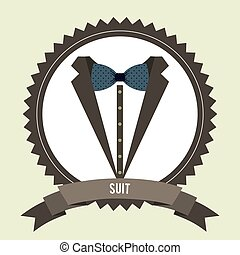 menswear fashion design, vector illustration eps10 graphic