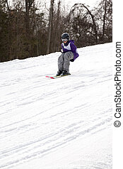 Youth Freestyle Skiing