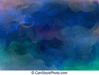 Abstract watercolor for background.