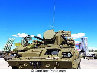 Weapons of anti-aircraft defense Tunguska - Tower of...
