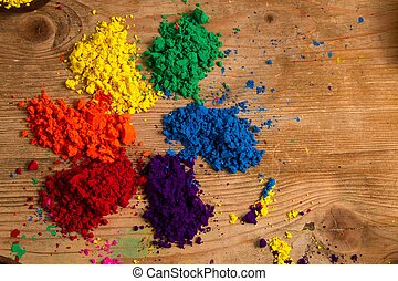 The colour wheel - The traditional colour wheel: an...