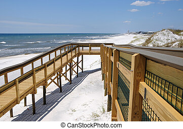 Beach Access Ramp - New Ramp Providing Handicap Access to...