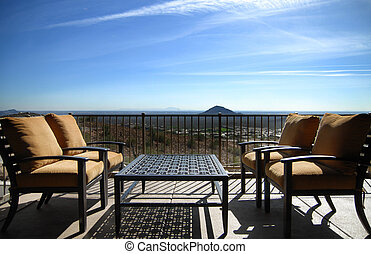 View from patio of Scottsdale, Az - View from patio of...