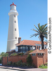 Punta del Este lighthouse, Uruguay - Lighthouse of Punta del...
