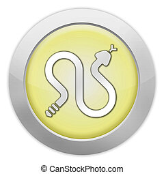 Icon, Button, Pictogram Rattlesnakes - Icon, Button,...