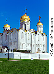 Dormition Cathedral 1160 in Vladimir, Russia - Dormition...