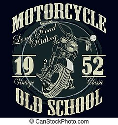 Motorcycle Racing Typography Graphics. Racing. T-shirt...