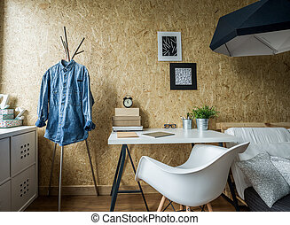 Room design for male student - Picture of room design for...