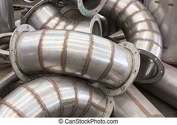Industrial ducting parts - Unfinished parts for stainless...