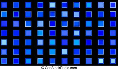 blue square backgroundmosaic