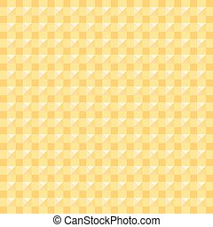 abstract square yellow, background vector