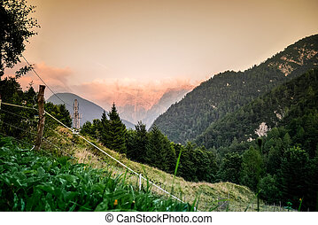 Triglav National Park, Slovenia - Panorama in Triglav...