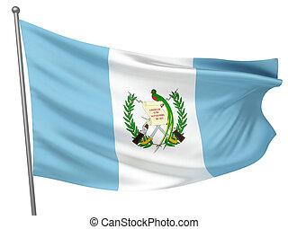 guatemala, nacional, bandera