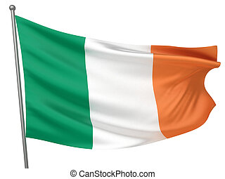 Ireland National Flag