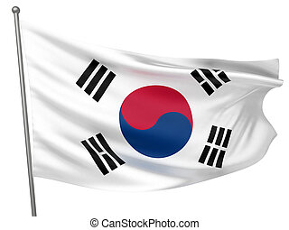 Korea, South National Flag