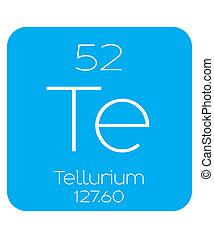 Informative Illustration of the Periodic Element - Tellerium...