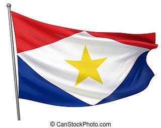 Saba National Flag